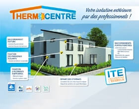 Isolation extérieure ITE - Thermo-Centre